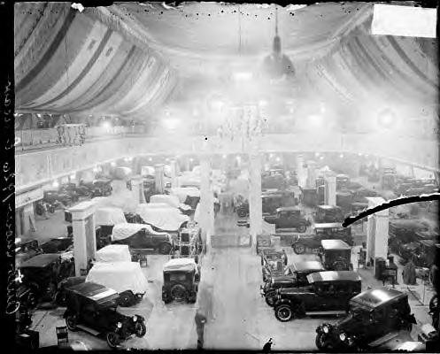 Auto show. Coliseum. Chicago. 1926