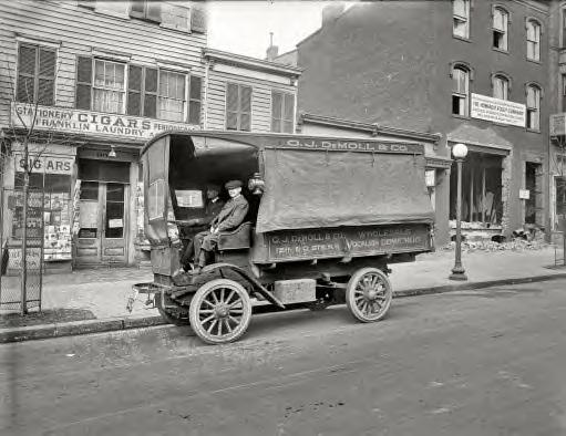 Washington, D.C., 1920. O.J. DeMoll Co., Autocar truck