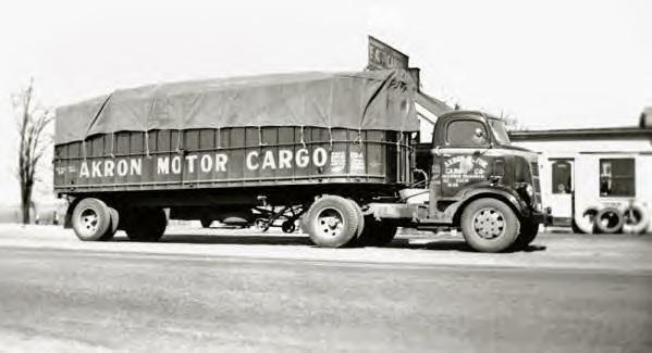 Akron Motor Cargo Co. Truck 1930s