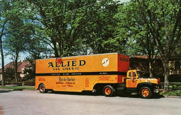 Allied Van Lines Truck 1962