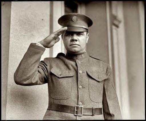 Pvt. Babe Ruth