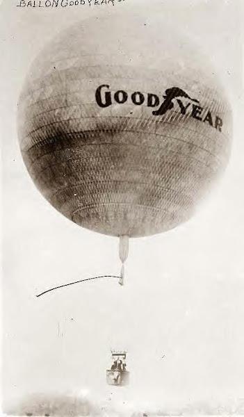 Goodyear balloon. Undated