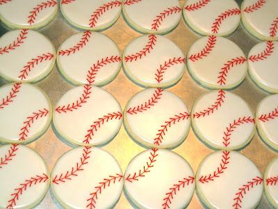 Baseball Cookes