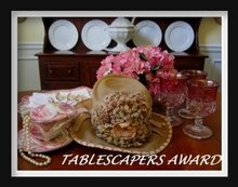 TABLESCAPERS AWARD