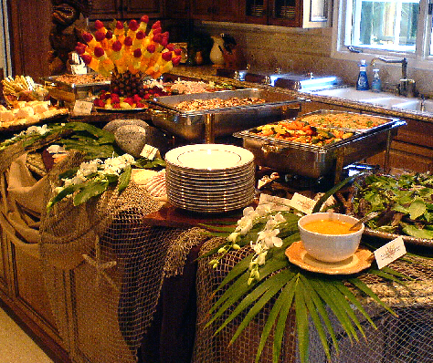 Bridal Shower Table Settings