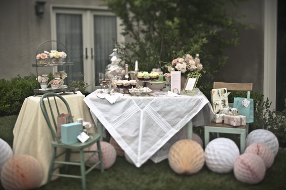Vintage Baby Shower Decoration Ideas