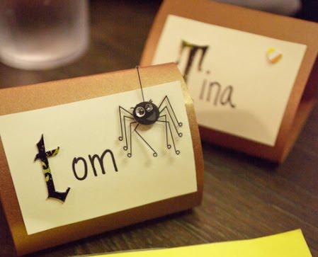 how cute are these i love the googly eyes on the spider another fun thing they did is use scrap paper to do just the first letter great tip