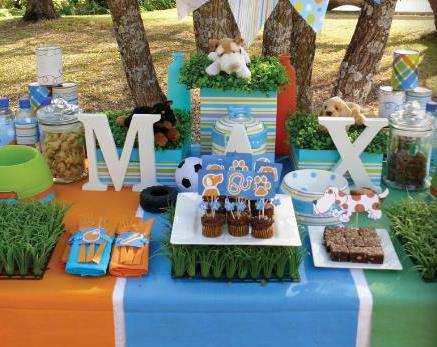How Fun Would A Dog Themed Party Be For Little Boy Or Girlso Here Are Some Ideas To Frost