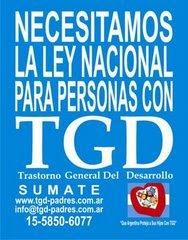 Apoyemos la Ley de TGD