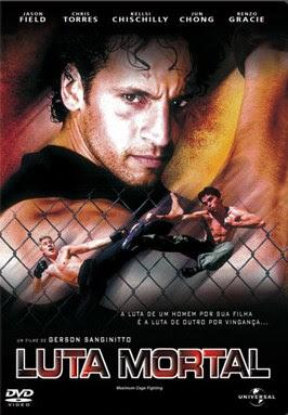 Filme Poster Luta Mortal DVDRip RMVB Dublado-Telona