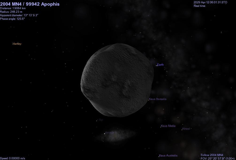 apophis 2029 asteroid impact map - photo #15