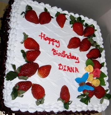 Birthday Cake Images For Diane : Cakes And Cupcakes Johor Bahru  : Birthday Cake Choc Moist ...
