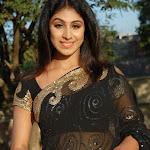 Hot And Sexy Saili Kathri In Black Transparent Saree...