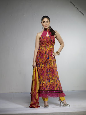 Kareena Kapoor flaunting her Indian and Western Dresses image