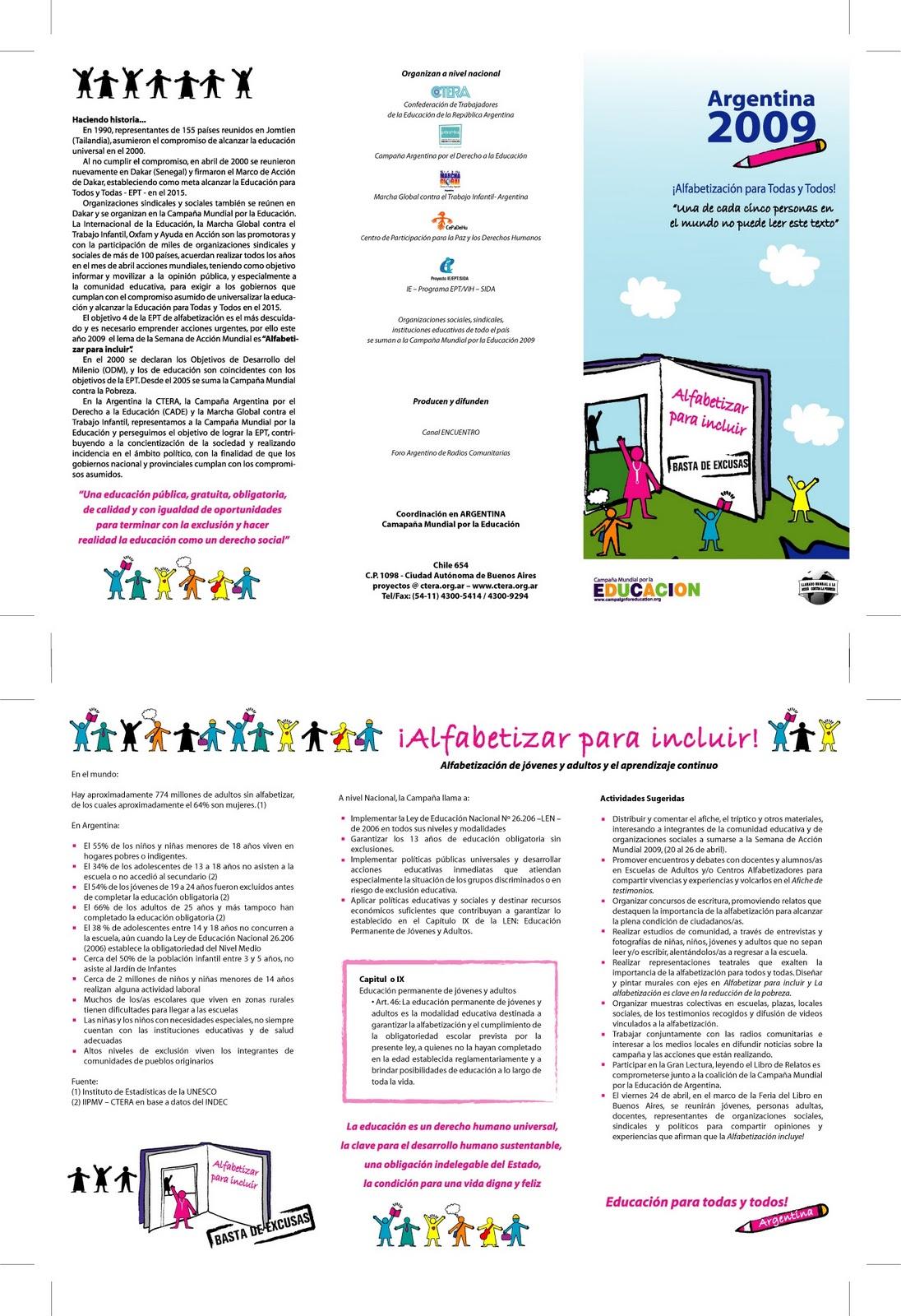 FUNDACION CIAE: RESUMEN DE ACTIVIDADES DEL 2009