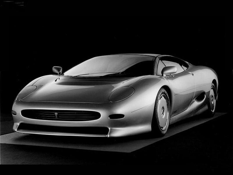 Jaguar XJ220 Pictures