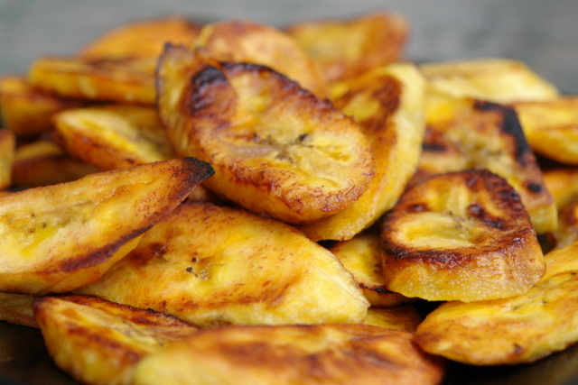Simply Magic: Suzanne Marques: Fried Plantains