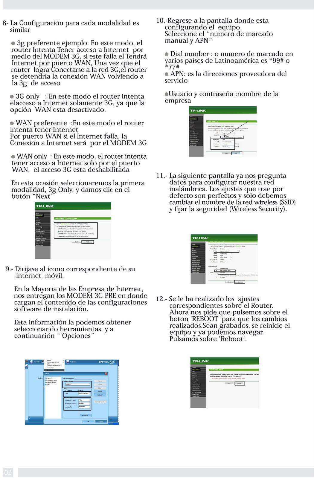 tp link modem router manual