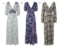 Floral Maxi Dress on Maxi Dress With Sleeves From Oasis