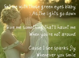 Sparks Fly ~Taylor Swift picture photo green eyes