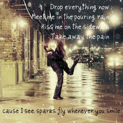 Sparks Fly ~Taylor Swift picture photo kiss me
