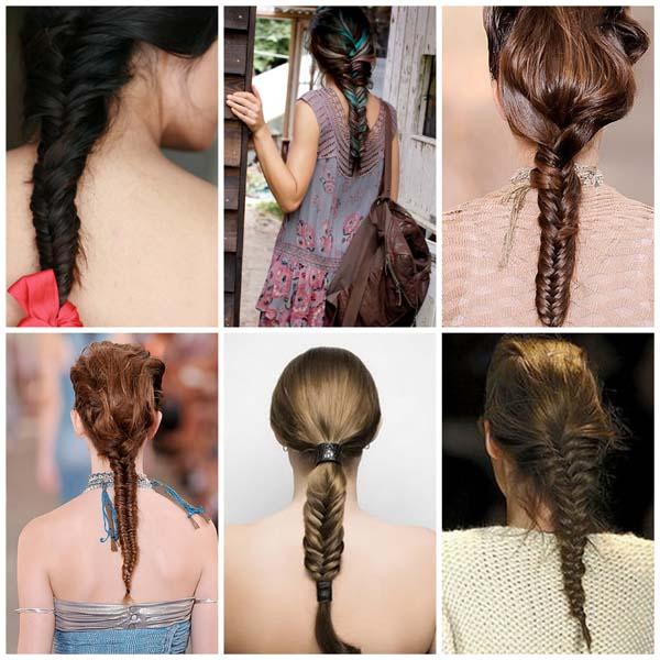 penteados trança