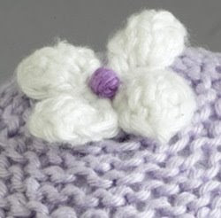 Small Flower Knitting Pattern : Flower Patterns to Knit & Crochet