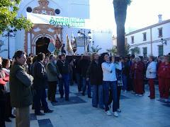 salida del viacrucis de las hdades de cadiz