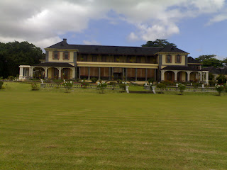 State House, Mauritius - Also called Le Chateau de Reduit