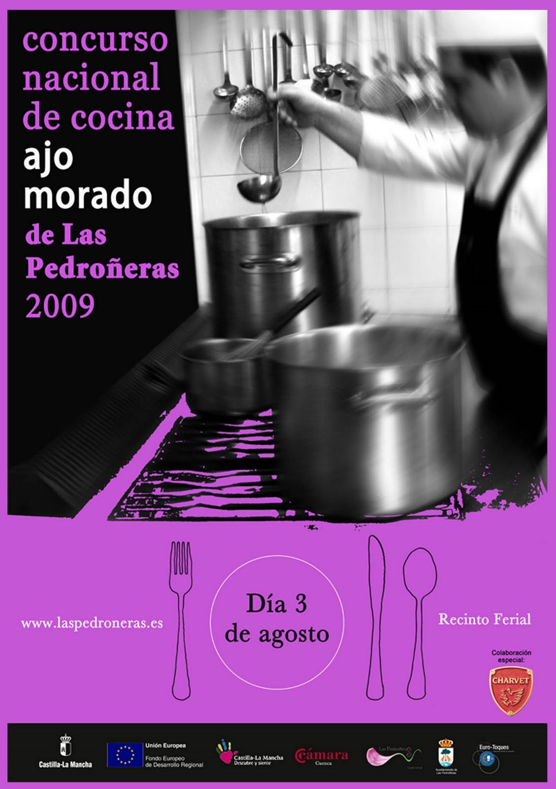 La cosa cambia concurso nacional de cocina ajo morado del - Concurso de cocina ...