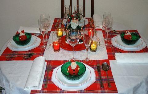 detalles para adornar el comedor en navidad