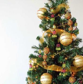 Las fiestas llegaron ya ideas para decorar el arbol de - Ideas para decorar un arbol de navidad ...