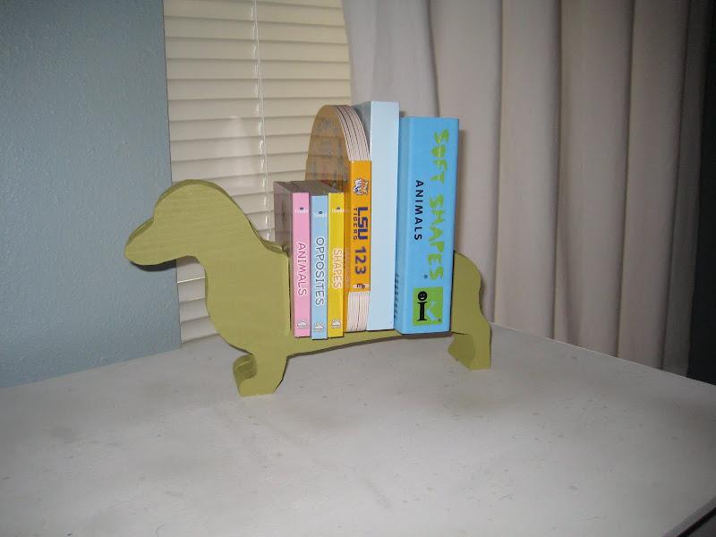 Doggie Bookcase title=