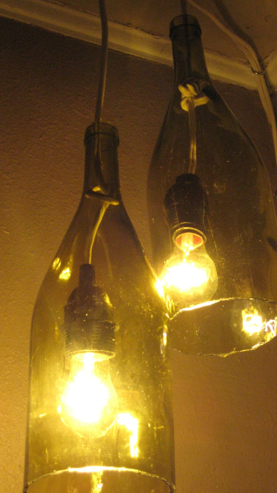 Video Tutorial. A lot of people commented on my wine bottle pendant lights  ...