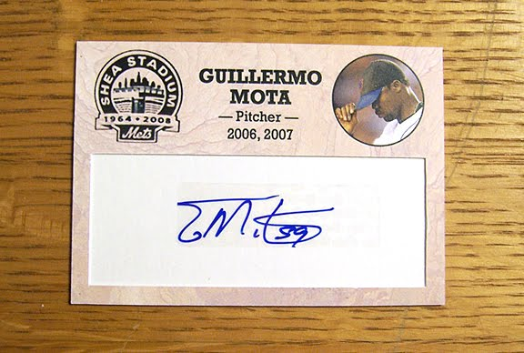 Guillermo Mota was originally signed by the New York Mets as an amateur free ...