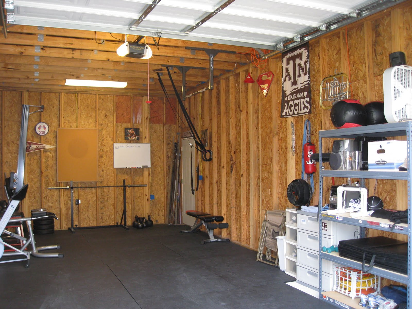 Gibson garage gym the new improved