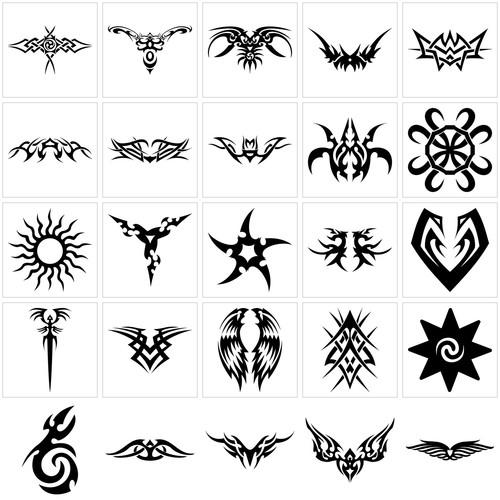 triball tattoo simboll designs