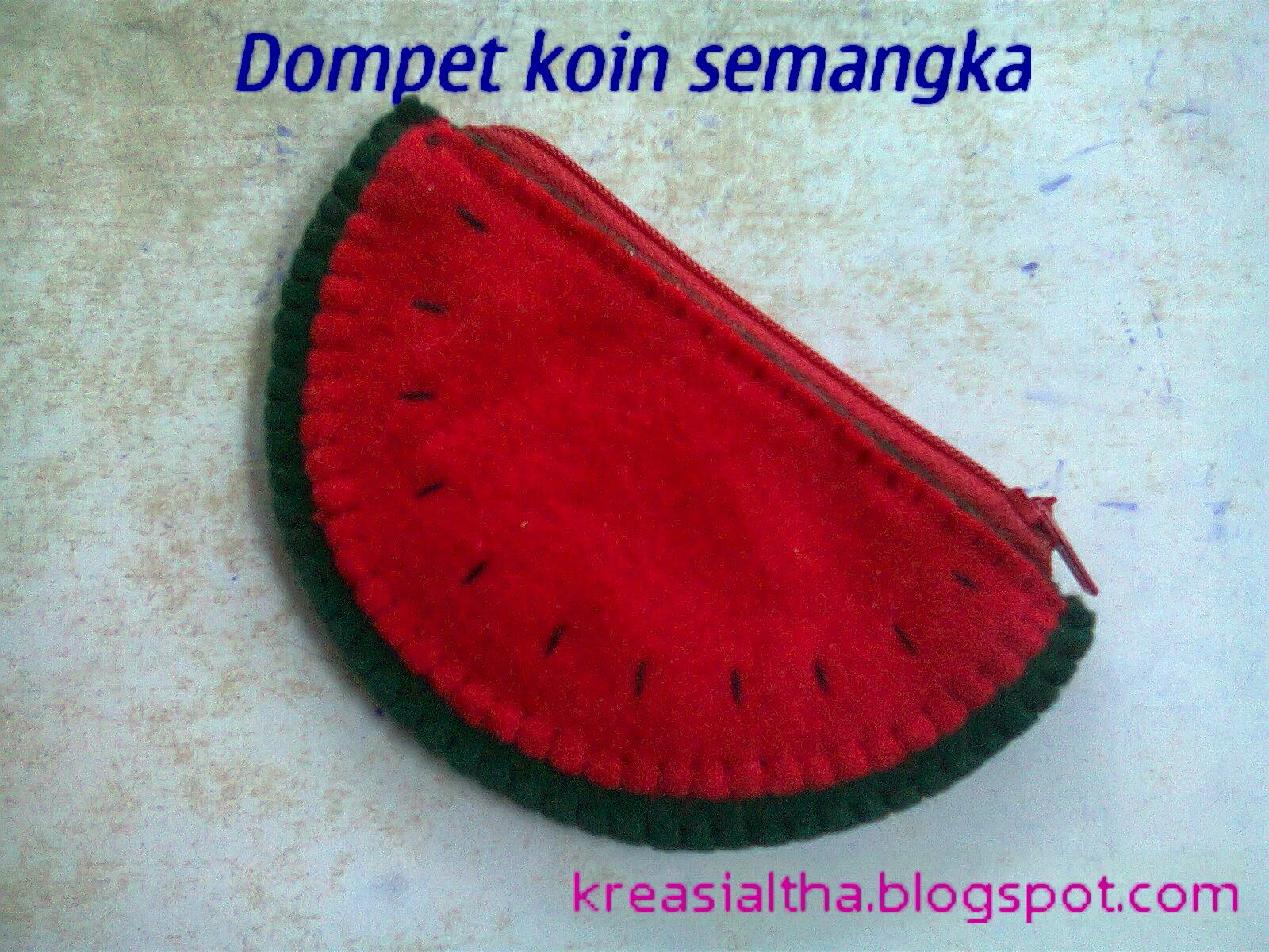 dompet koin semangka