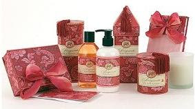 Michel Design Works Bath Gift Set - Pomegranate :  woman gifts gift ideas womens