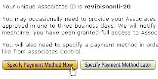 Specify Payment Method