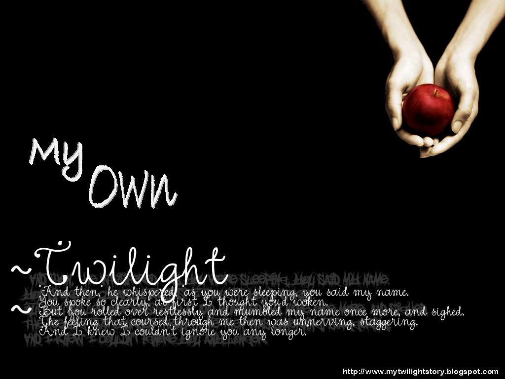 My Own Twilight Story