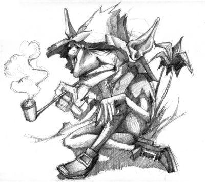 La cuna de magni los peque os amiguitos del folklore - Cuna duende micuna ...