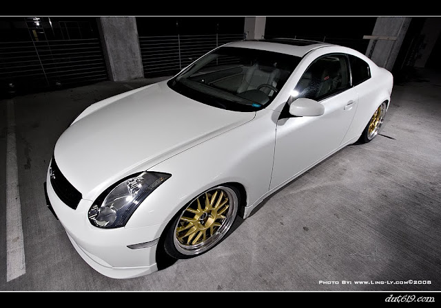 Infiniti G45 on SSR wheels