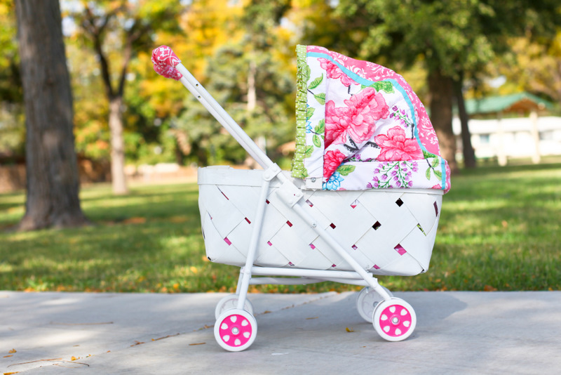 Baby Pram Tutorial - So You Think You're Crafty
