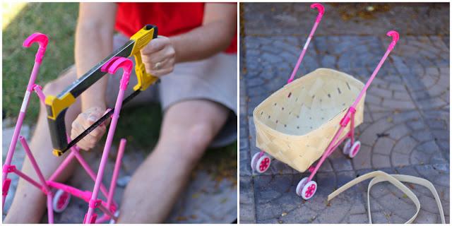 Как сделать коляски для кукол