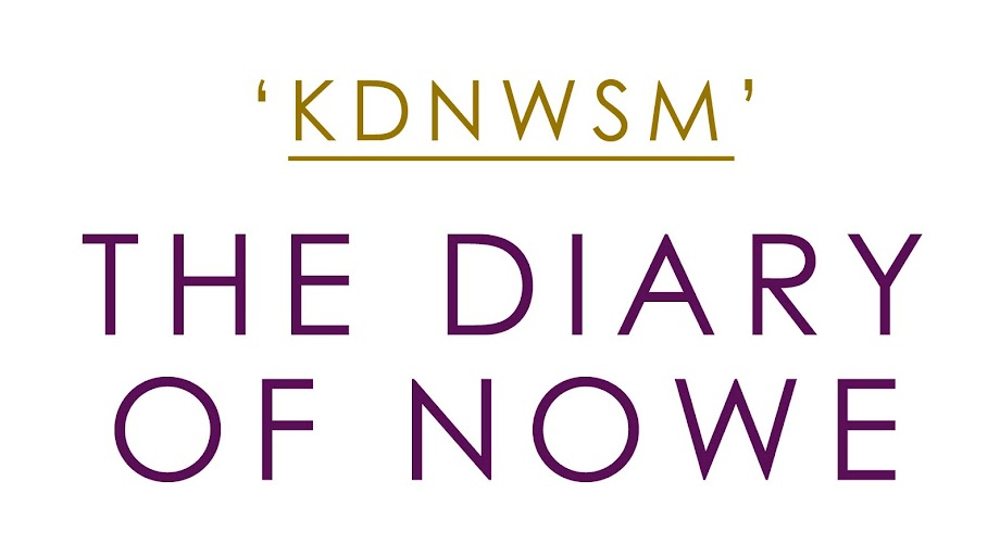 the diary of Nowe