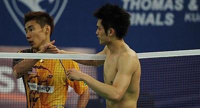 Lin Dan vs Chong Wei