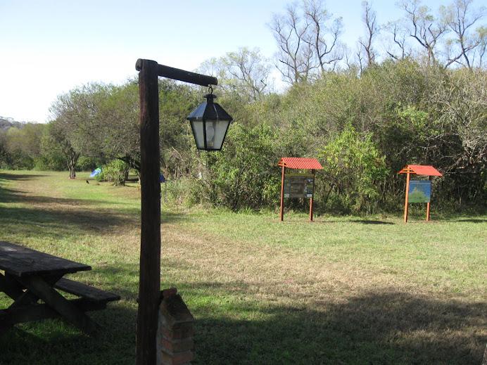 Camping agreste P.N. El Rey