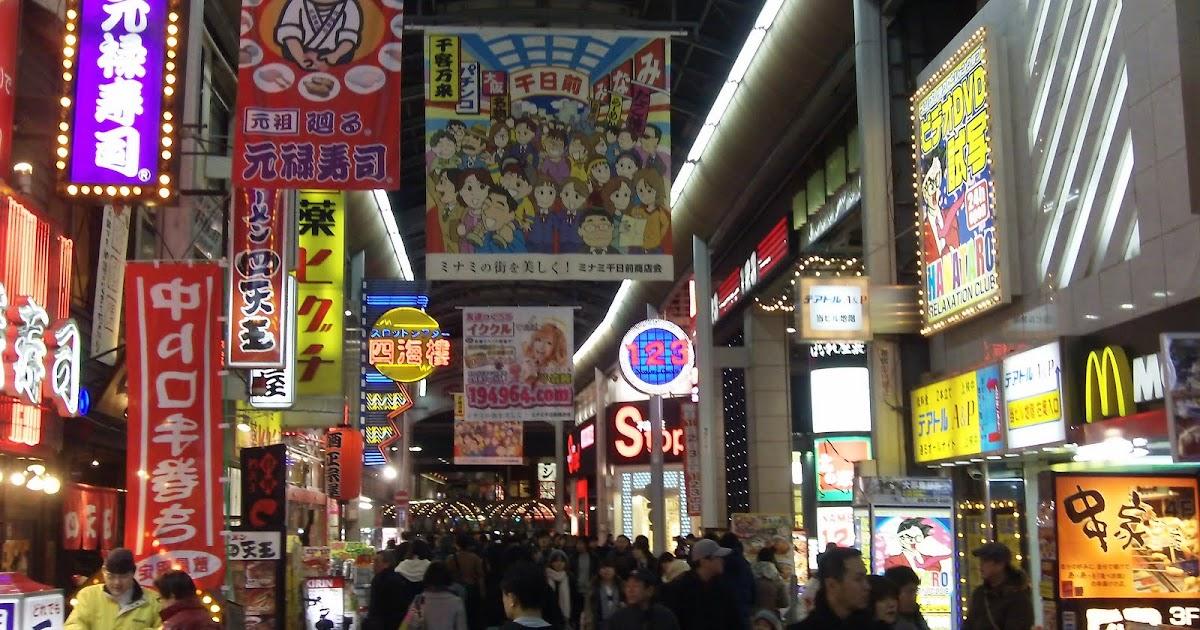 Japantakai Osaka The Most Fun Place In Japan