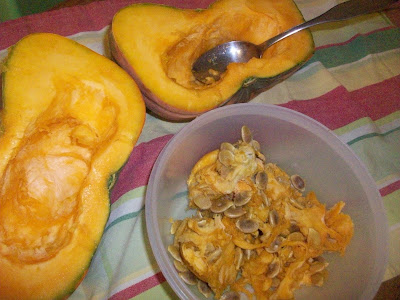 how to cook pumpkin squash in oven